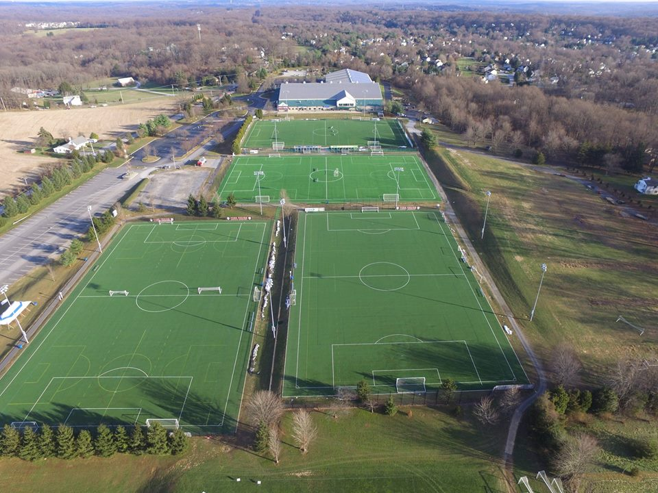 Outdoor Artificial Turf Fields